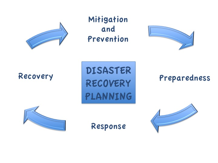 Disaster recovery planning flow chart